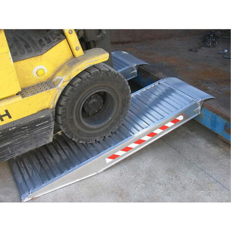 Rampe pour container - Petite Largeur - Charge max. 3T (plusieurs tailles disponibles)