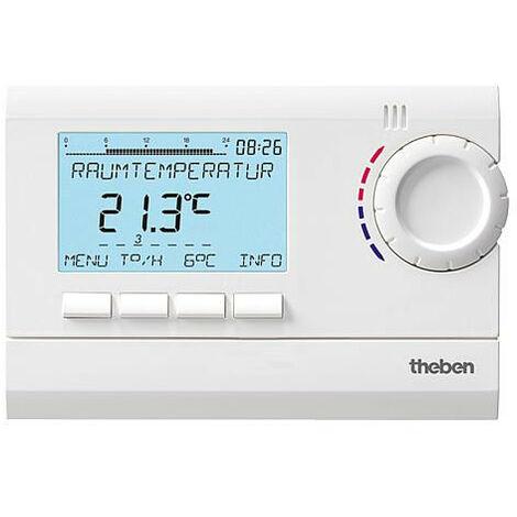 RAMSES 832 top2 thermostat à horloge digitale Theben