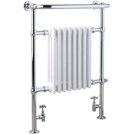 RAMSEY Traditional Victorian Heated Towel Rail & Column Radiator - Central Heating