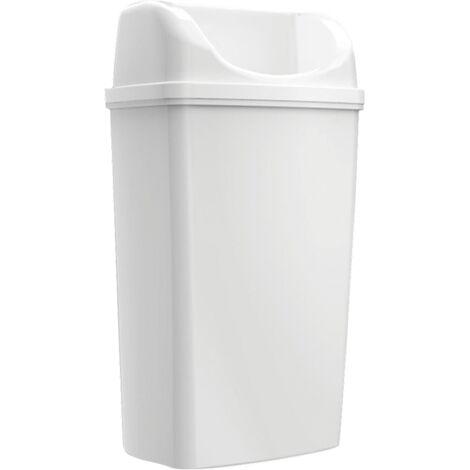 Randabfallbehälter stehen Maxi / suspendiert weiß 50L