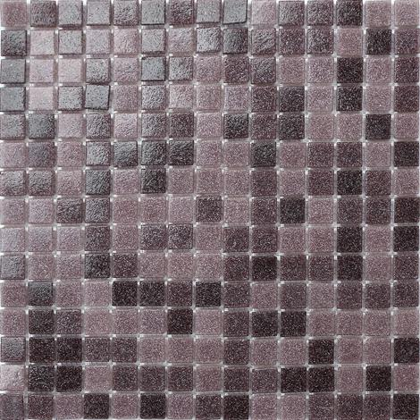 Random Mix Purple Vitreous Glass Mosaic Tiles MT0108