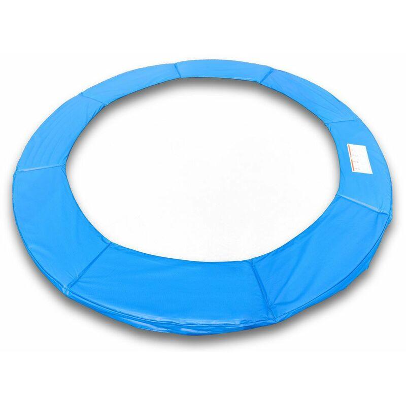 Randabdeckung Schutzpolsterung Abdeckung in blau für Trampolin 427 bis 430 cm