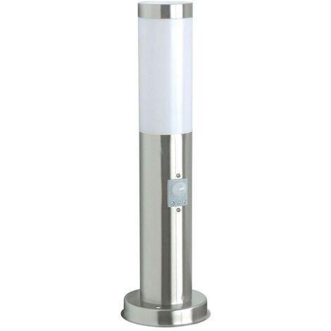 Ranex Bolardo de luz con sensor 20 W cromado 45 cm RX1010-45S