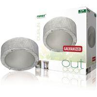 Ranex Ceiling/Wall Light 60 W Silver 5000.314