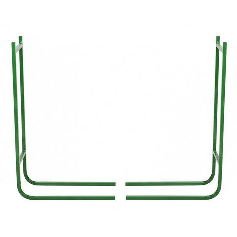Range bûche extensible Vert 120 cm