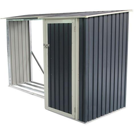 Range Bûches + Armoire Gardiun Combi Montreal - 3,07 m² Extérieur 109x282x168 cm