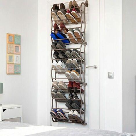 Range chaussures 36 paires à suspendre sur porte