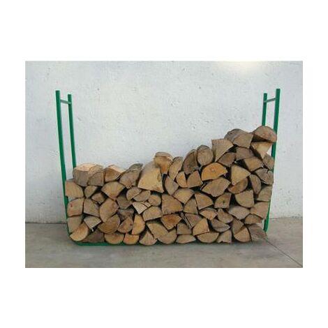 range serre buche pour bois de cheminée 95 cm