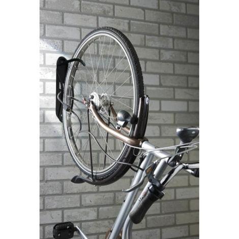 Range Vélo Mural Avec Crochet En Acier Revêtement Vinyle, Support Mural  Pour Accrochage Vertical