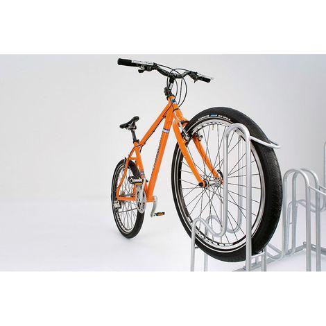 Range-vélos 4000 BR WSM - utilisation d'un seul côté - 4 places