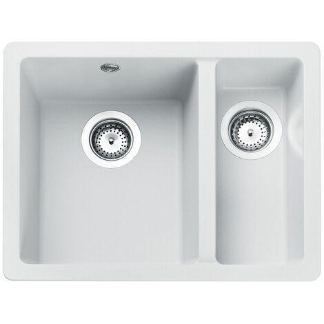Rangemaster Paragon 1.5 Bowl Undermount Granite Kitchen Sink with FREE Waste Kit