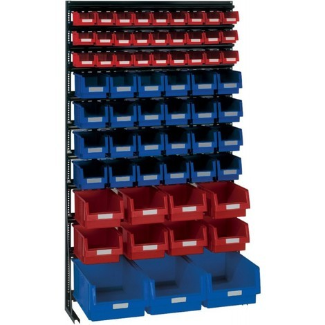 Rangement ateliers Vario-Regal V14G avec 62 PLK-Boites