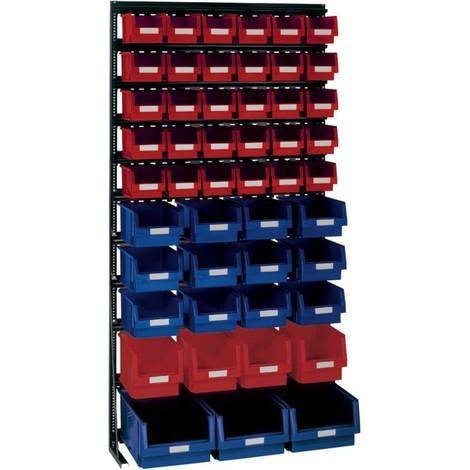 Rangement ateliers Vario-Regal V15l avec PLK-Boites, noir