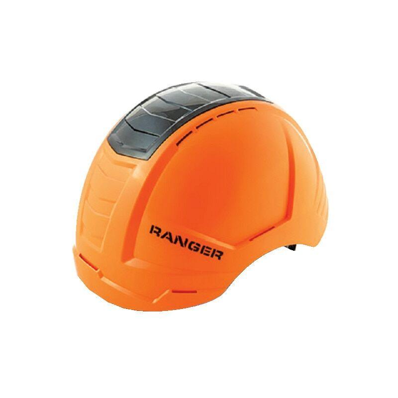 Image of Ranger Hi-vis Orange Safety Helmet with Black Crash Box - Alpha Solway