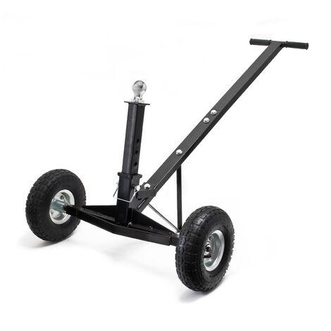 Rangierhilfe für Anhänger und Wohnwagen, bis 270 kg belastbar, mit höhenverstellbarer Kupplungskugel