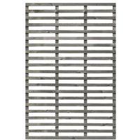 Rankzaun / Rankgitter / Sichtschutzzaun Rebo KI grau 120x180cm