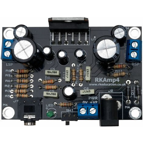 Rapid 10W Stereo Amplifier Kit Without Speakers