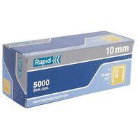 Rapid 11830700 13/6 6mm Galvanised 5m Staples Box of 5000