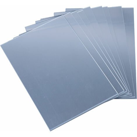 Rapid Acrylic Plastic Mirrors A6 - Pack of 10