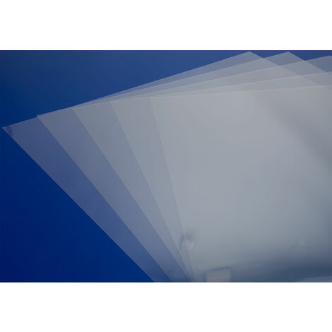 Rapid Clear PVC Sheets 0.14 x 450 x 635mm - Pack of 10