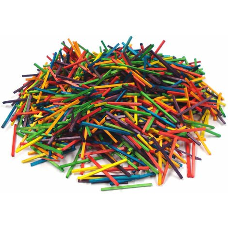 Rapid Coloured Matchsticks Pack of 2000