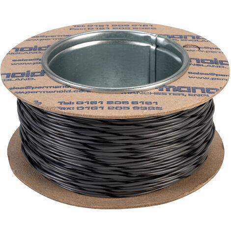 Rapid Equipment Wire 16/0.2mm Grey/Black 100m