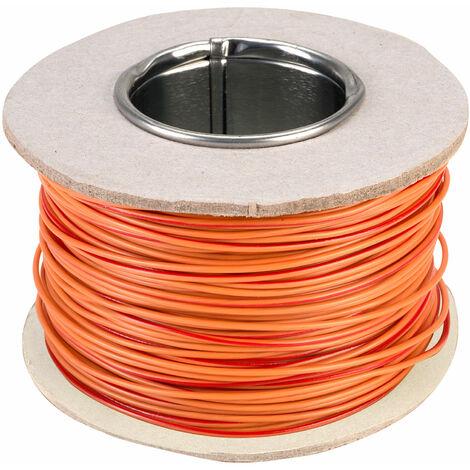 Rapid GW010425 Equipment Wire Orange 7//0.2 100m Reel