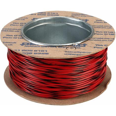 Rapid Equipment Wire 16/0.2mm Red/Black 100m