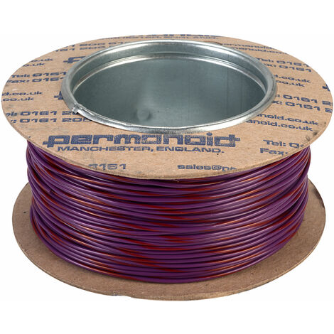 Rapid GW011545 10//0.1mm Equipment Wire White 100m