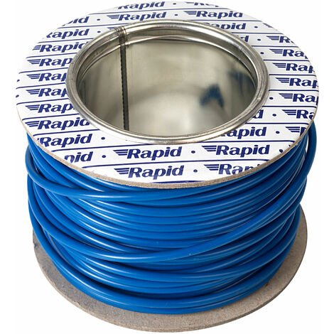 Rapid GW010610 Extra Flexible Wire Blue 25m