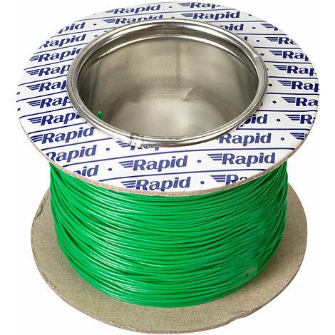 Rapid GW011515 10/0.1mm Equipment Wire Green 100m