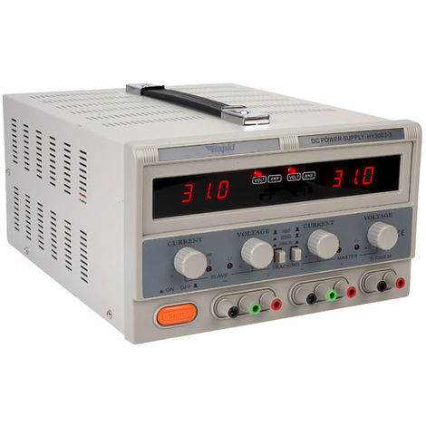 Rapid HY3003-3 Triple Output Bench PSU LED 2x0-30V 0-3A 1x 5V 3A