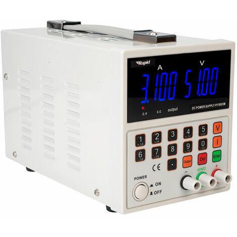 Rapid HY5003-M Digital Single Output Bench PSU LED 1x0-50V 0-3A