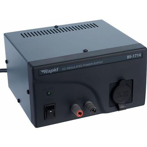 Rapid LP-514-209G Fixed Out 13.8V 4-6A Cigar Socket Psu