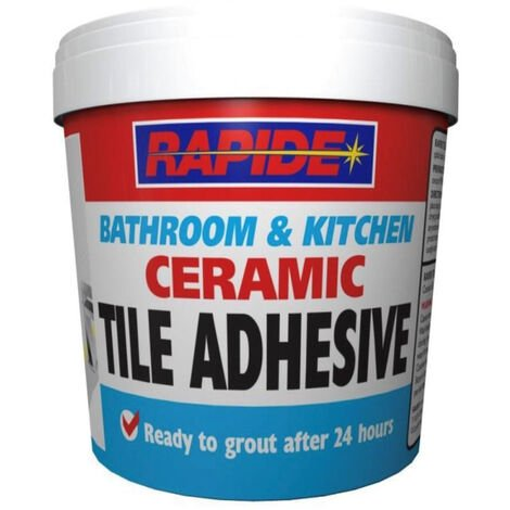 Rapide Bathroom & Kitchen Ceramic Tile Adhesive 1kg