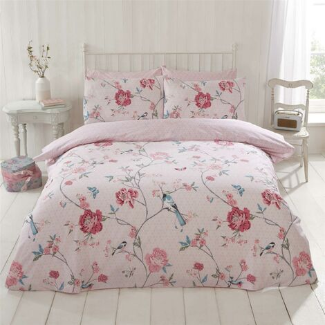 Rapport Home Furnishings, Polycotton, Pink, Double