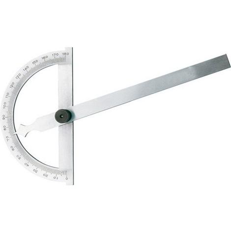 Rapporteur d'angle, Arc gradué : 120 mm, Long. des branches 150 mm