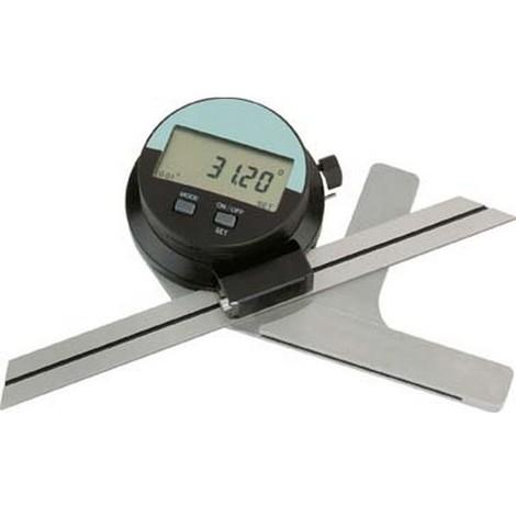 Rapporteur d'angle numérique, Glissière : 200 mm, Modèle Rapporteur d'angle numérique