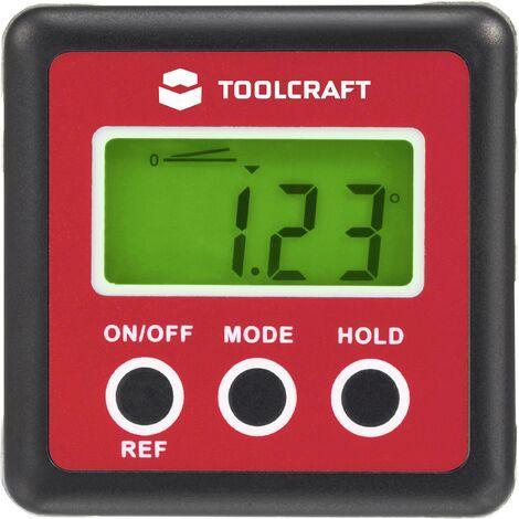 Rapporteur d'angle numérique Toolcraft X856331