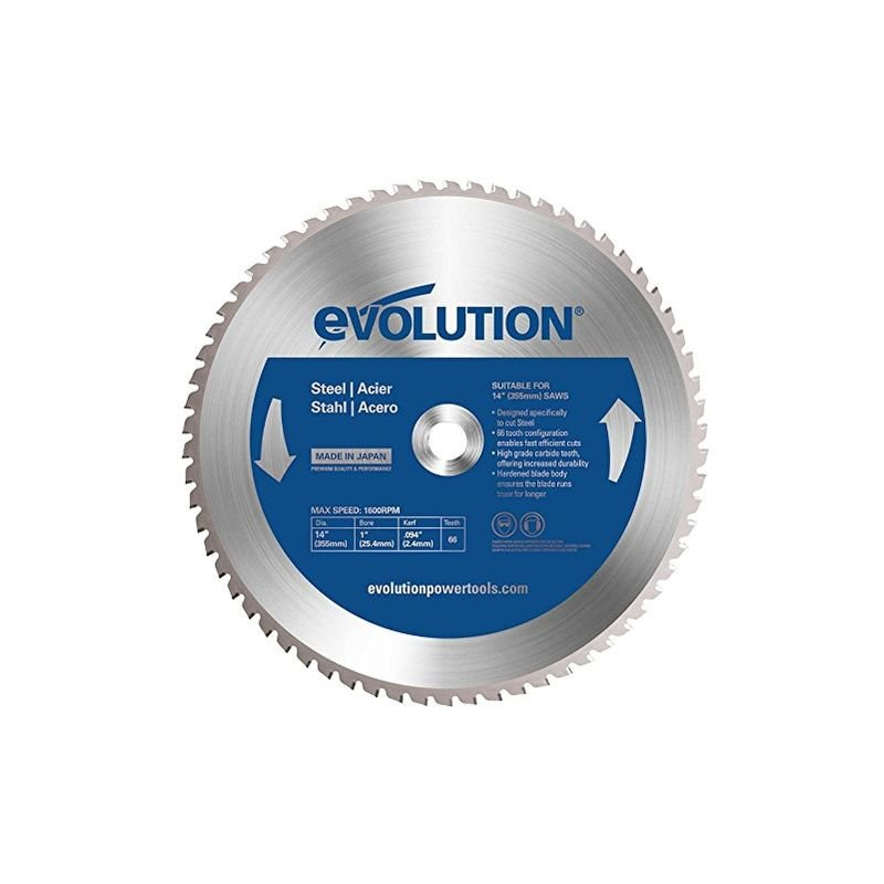 Image of Htc Evolution - Evolution Mild Steel Carbide-tipped Blade, 355 Mm