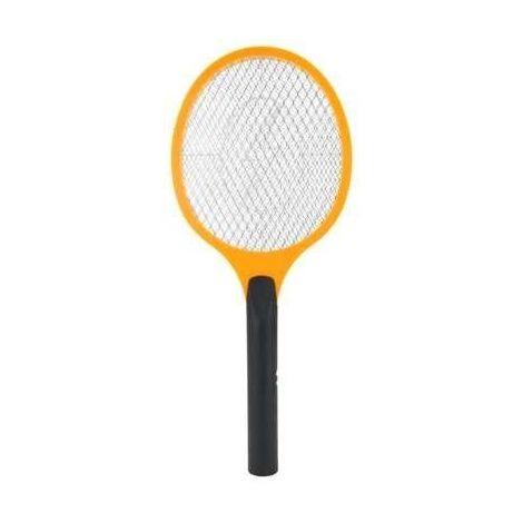 raquette lectrique tue mouche anti insectes 50cm orange 2601. Black Bedroom Furniture Sets. Home Design Ideas