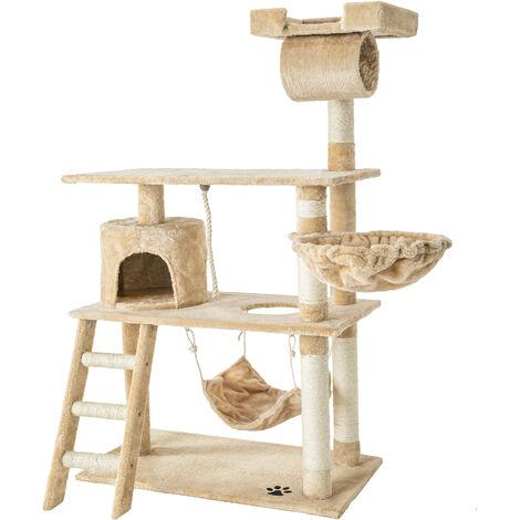 """main image of """"Rascador para gatos Marcel - árbol rascador para gatos, parque de juegos para gatos con columnas de sisal, juguete para gatos con casetas"""""""
