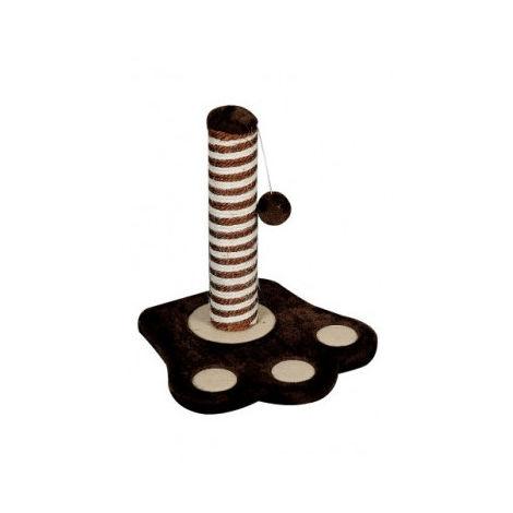 Rascador Pata marrón oscuro 32x3 x37cm
