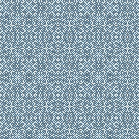 Rasch Geometric Blue/ White Wallpaper