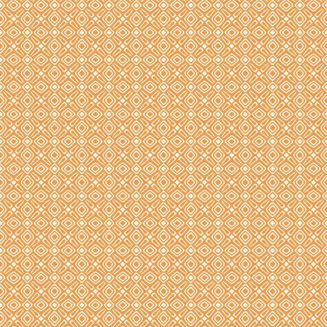 Rasch Geometric Orange/ White Wallpaper