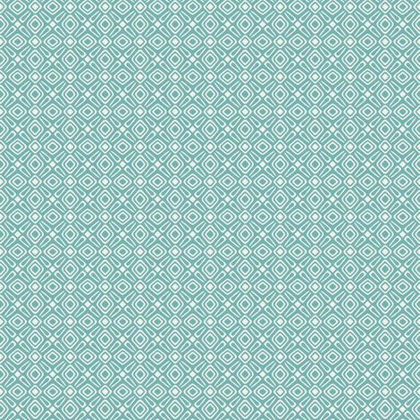 Rasch Geometric Teal/ White Wallpaper