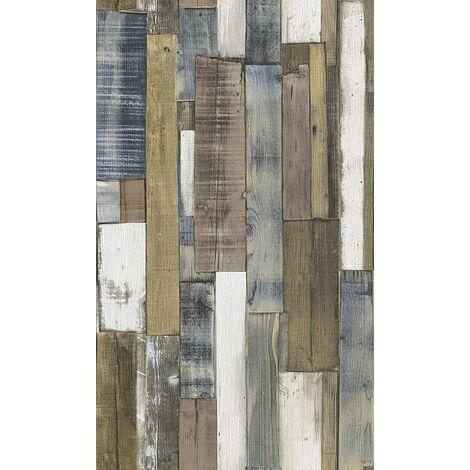 Rasch paperhangings 203707 PaperwallpaperRasch Collection Stones & Woods, Brown
