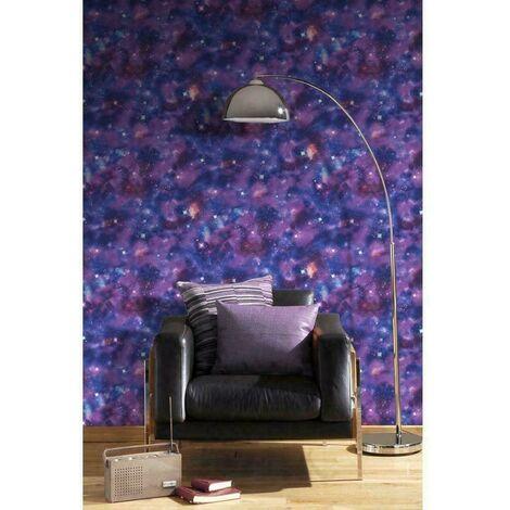 RASCH SPACE KIDS CHILDREN'S GIRLS BOYS TEENAGE ROOM WALLPAPER