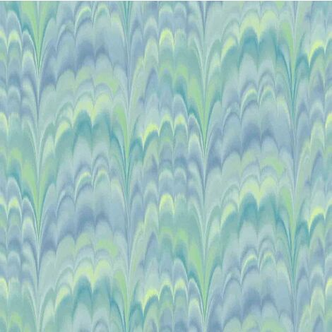 Rasch Taste Portfolio Wallpaper 216509 - Tie Dye Stripe Childrens Teal Green