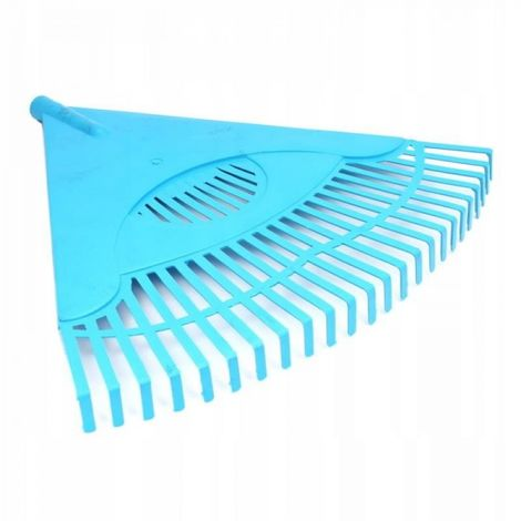 Rastrillo de abanico de plástico de 60 cm para hoj